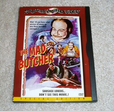 £36.30 • Buy The Mad Butcher DVD Cult Horror Drive In Exploitation Something Weird OOP RARE