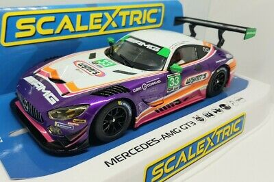 £55 • Buy Scalextric Mercedes AMG GT3 Wynns Car No.33, Boxed New, Rare
