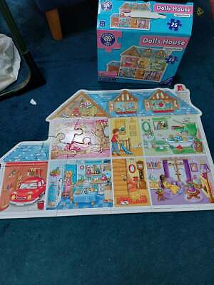 £4 • Buy Orchard Toys 25 Piece Jigsaw  Puzzle, Dolls House