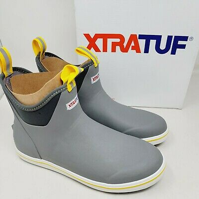£57.37 • Buy Xtratuf Men's Ankle Deck Boots 6  22735 Gray Rubber Size 10