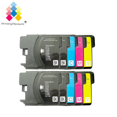 £6.99 • Buy 10 Ink Cartridge Fits Brother LC1100 DCP-395CN MFC-5895CW DCP-6690CW MFC-670CD