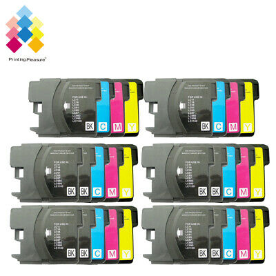 £10.99 • Buy 28 Ink Cartridge Fits Brother LC1100 DCP-395CN MFC-5895CW DCP-6690CW MFC-670CD