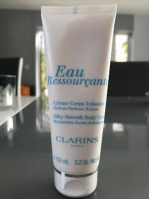 £12.99 • Buy Clarins Eau Ressourcante Body Cream 100 ML Sealed Without Box