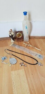 £10 • Buy Collection Of Religious Catholic Items