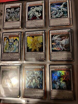 £55 • Buy Yugioh Stardust Dragon Collection You Get Every Card Shooting/Quasar/Spark