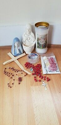 £10.50 • Buy Collection Of Religious Catholic Items