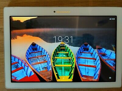 £50 • Buy Lenovo A10-70f Tab 2 10.1 Inch 16GB, Android Tablet - White Boxed And Complete