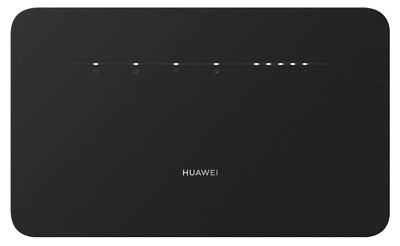 £50 • Buy HUAWEI 4G ROUTER 3 PRO BLACK B535-235 Together With ANTENNAE And UK PLUG