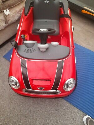 £25 • Buy Childs Red Mini Cooper Ride On Car