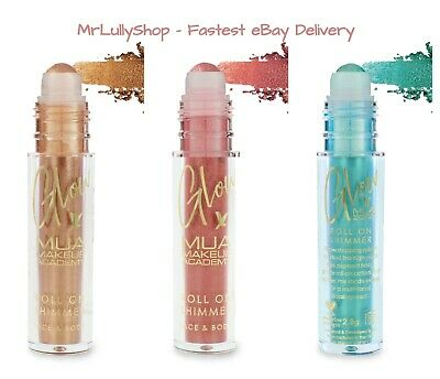 £3.99 • Buy MUA Glow Roll On Shimmer, Face & Body Glitter, Fiercely Pigmented Sparkle Sealed