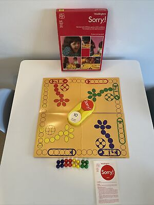£29.99 • Buy Vintage Waddingtons Sorry Board Game - 100% Complete - 1977 Edition Retro