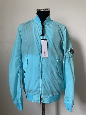 £195 • Buy Men's Blue CP Company Nycra Bomber Jacket BNWT | XL/Large