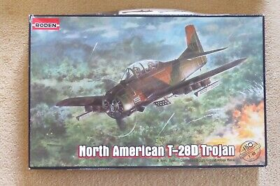 £25 • Buy Roden 1/48 Scale North American T-28D Trojan