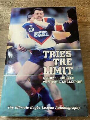 £12.99 • Buy SIGNED Tries The Limit The Ultimate Rugby League Autobiography Garry Schofield