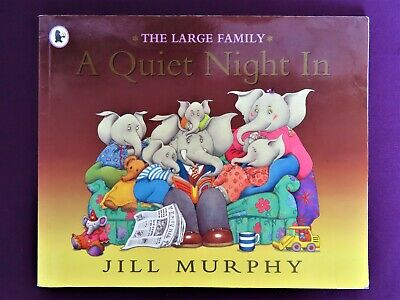 £2 • Buy The Large Family A Quiet Night In By Jill Murphy Children Story Book Illustrated