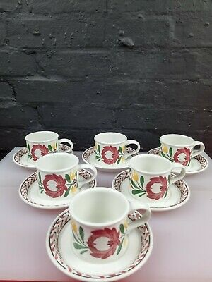 £49.99 • Buy 6 X Portmeirion Welsh Dresser Tea Cups And Saucers Last Set Available
