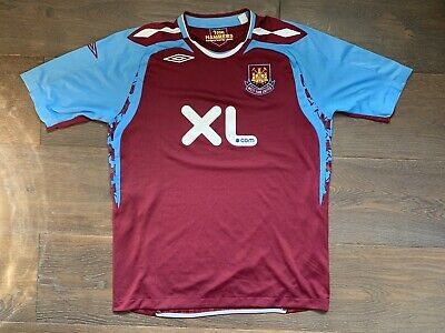 £19.99 • Buy West Ham United 2007/2008 Home Football Shirt / Jersey - Umbro Size L