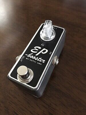 £33.27 • Buy Xotic Ep Booster Guitar Boost Pedal