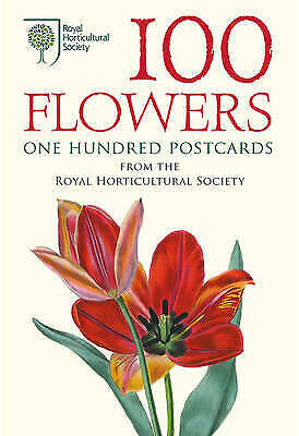 £0.99 • Buy 100 Flowers: One Hundred Postcards From The Royal Horticultural Society By Royal