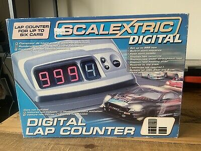 £9 • Buy Scalextric C7039 Digital Lap Counter Used