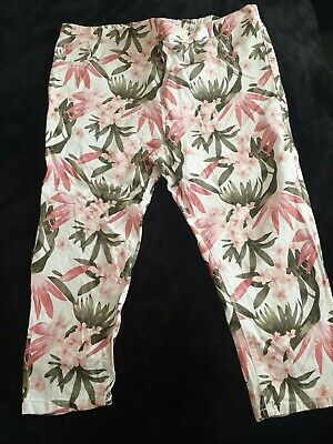 £4.50 • Buy Yours Clothing. Size 26 Floral Cropped Trousers