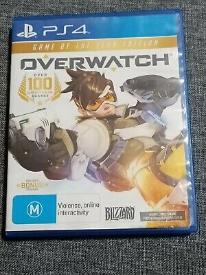 AU25 • Buy Overwatch Game Of The Year Edition PS4 - USED - GOOD CONDITION