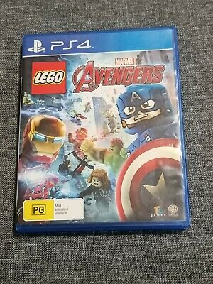 AU19 • Buy LEGO Marvel Avengers PS4 - USED - COMPLETE - GOOD CONDITION
