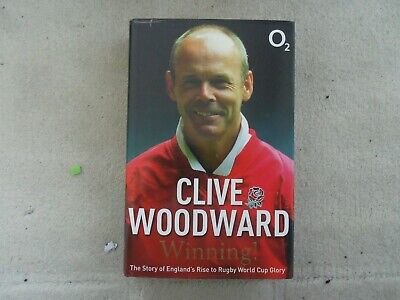 £4.50 • Buy Clive Woodward - Winning !  Autobiography Signed Hardback Book 1st Edn Rugby