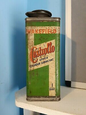 £150 • Buy Used Vintage Original 1920s Castrol Castrollo Upper Cylinder Lubricant Oil Can