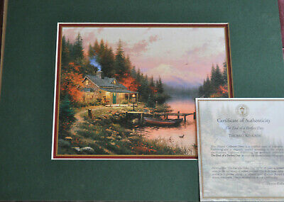 £24 • Buy Thomas Kinkade - The End Of A Perfect Day - Print
