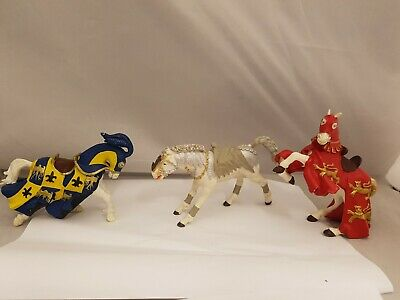 £9.99 • Buy Papo Bundle Of 3 Knights Horse Figures