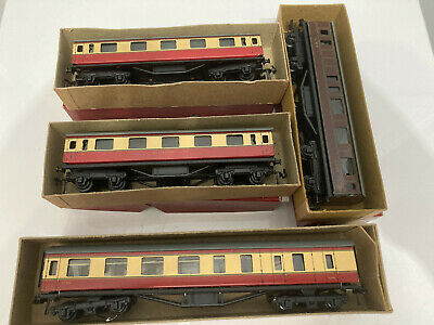 £29.99 • Buy Vintage TRIX Twin TTR Coaches Collection All Boxed Excellent Condition X 4
