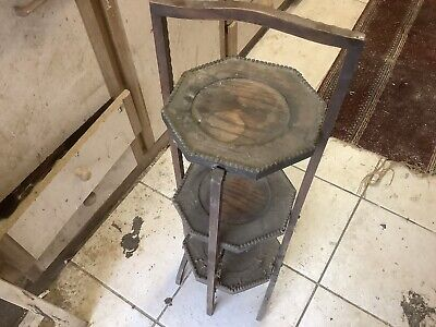 £25 • Buy Antique Folding Cake Stand
