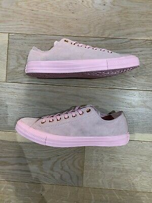 £25 • Buy Converse Chuck Taylor All Star Suede Low Top Cherry Blossom (161204C)