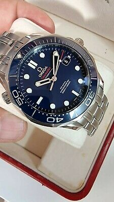 £2850 • Buy OMEGA Seamaster Watch -Diver 300M Co-Axial Chronometer Blue-