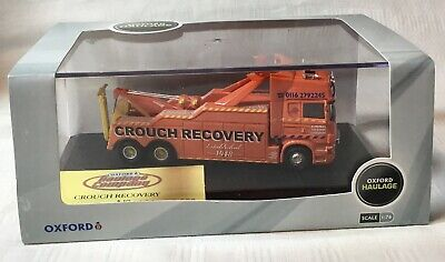 £80 • Buy Oxford Haulage 1:76  Crouch Recovery  Limited Edition Scania Recovery Truck