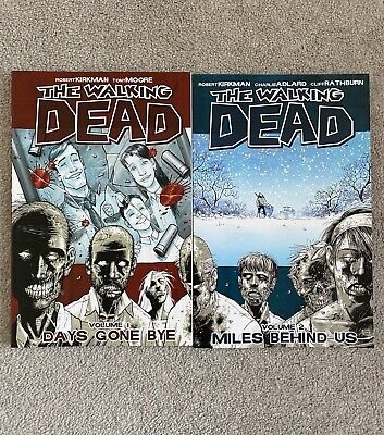 £5 • Buy The Walking Dead Volume 1 And 2 Comic Book