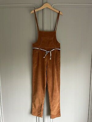 £1.80 • Buy Gorgeous Girls Mango Brown Cordroy Dungarees Age 7-8 / 9-10 Excellent Condition