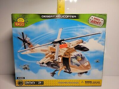 £14.55 • Buy COBI 2329 Model/Toy SMALL ARMY DESERT HELICOPTER 200 Pcs NEW