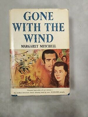 £14.63 • Buy Gone With The Wind 1936 Book, Book Club Edition Hard Cover With Dust Jacket