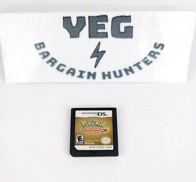 $106.32 • Buy Pokemon: HeartGold Version (Nintendo DS, 2010) Game Cartridge Only Authentic