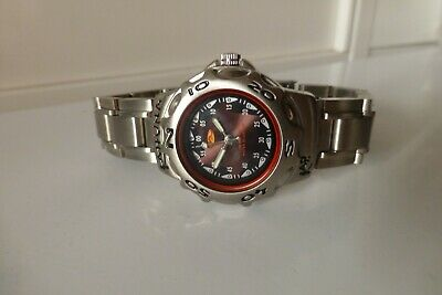 £3.99 • Buy Silver Tone Kahuna Sports Watch Good Working Condition