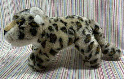 """£7.99 • Buy Keel Toys Leopard Soft Toy 14"""" Plush Simply Soft Collection Cub Big Cat"""