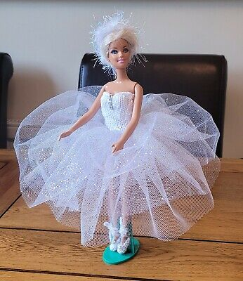 £9.99 • Buy Handmade New Barbie & Sindy Doll Swan Lake Ballerina Ballet Outfit Clothes