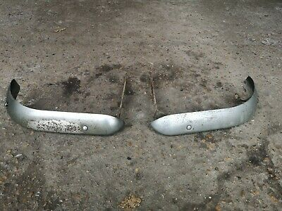 £60 • Buy MK1 Escort.. Twin Cam Mexico Sport RS2000, 1600... 1/4 BUMPERS With BRACKETS..OR