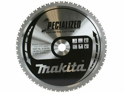 £55 • Buy Makita B-09765 Metal Cold Cutting Chop Saw Blade Specialized Metal 305mm X 60T..