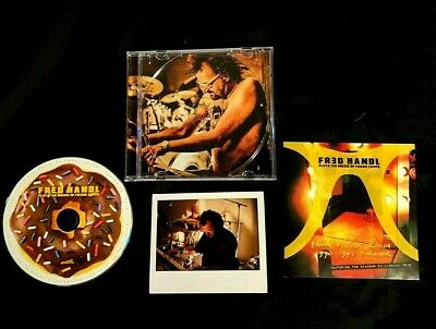 £18.32 • Buy Fred Handal Plays Music Of Frank Zappa Dutch Self Released Cd Signed + Photo Hoe