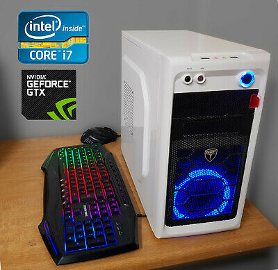 £298 • Buy I7 Quad-Core Gaming PC. NVIDIA GTX 770. SSD Windows 10. Keyboard And Mouse. Fast