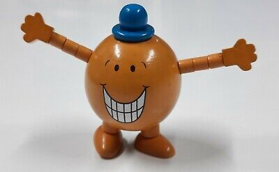 £5 • Buy Mr Men 'Mr Tickle' Wooden Character Toy With Stretchable Arms - Pre-Owned