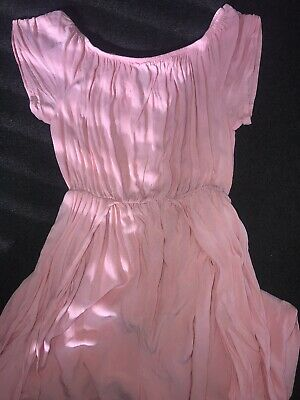 £1 • Buy New Look 915 Coral Play Suit Floaty Dress Aged 12